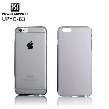POWER SUPPORT iPhone 6 專用 Air Jacket 保護殼-透黑殼 UPYC-83