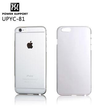 POWER SUPPORT iPhone 6 專用 Air Jacket 保護殼-透明殼 UPYC-81