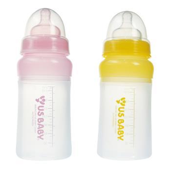 【優生】矽晶防脹奶瓶230ml(寬口L)