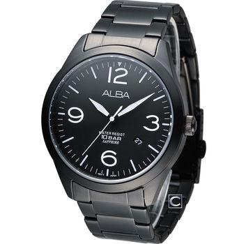 ALBA 雅柏 極簡型男時尚腕錶 VJ42-X126SD AS9763X1