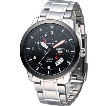 SEIKO 精工 5號機械戰警機械腕錶 4R37-00Z0D SSA207J1