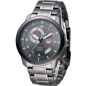 SEIKO 精工 5號機械戰警機械腕錶 4R37-00Z0SD SSA209J1