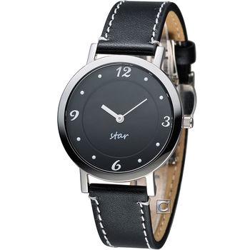 STAR 時代 恣意漫步時尚腕錶 9T1407-331S-D