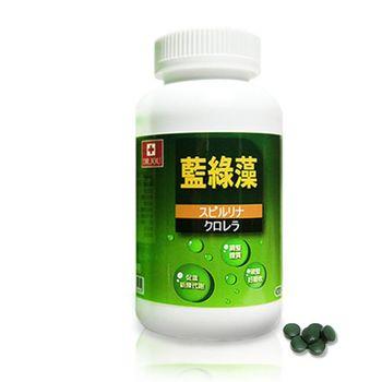 即期良品  DR.JOU 藍綠藻(500錠/裸瓶  效期:2017.4.1)