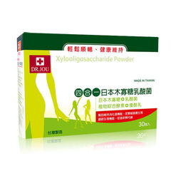 DR.JOU 四合一日本木寡糖乳酸東森購物中心菌(一件組 3g/30包/盒)