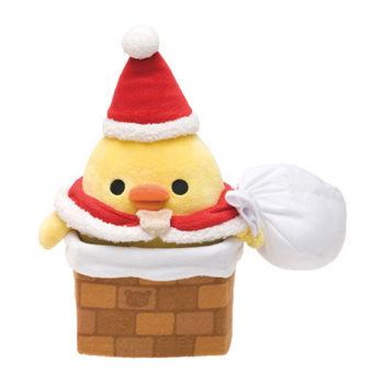 【SAN-X】 拉拉熊聖誕節店舖限定版毛絨公仔 小雞