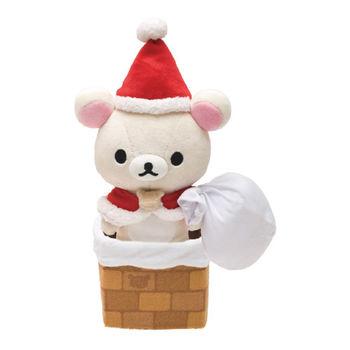 【SAN-X】 拉拉熊聖誕節店舖限定版毛絨公仔 懶妹