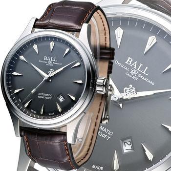 波爾錶 BALL Firman Racer Classic 經典機械腕錶 NM2288C-LJ-GY