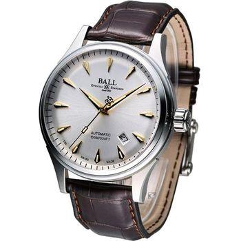 波爾錶 BALL Firman Racer Classic 經典機械腕錶 NM2288C-LJ-SL