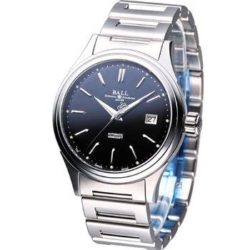 波爾錶 BALL Firman II 簡約時尚 機械腕錶 NM2098-SJ-BK