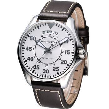 漢米爾頓 Hamilton Khaki Aviation 航空軍用飛行機械錶 H64615555