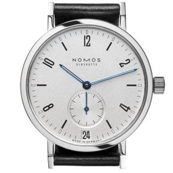 NOMOS 531 Tangente Sport Date 小秒針腕錶-白/36.5mm