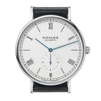 NOMOS 251 Ludwig Automatic 小秒針機械腕錶-白/40mm