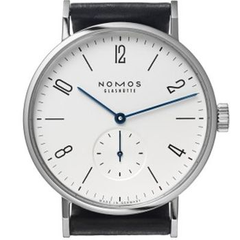 NOMOS 601 Tangomat Automatic 小秒針腕錶-白/38.3mm