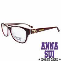 Anna Sui安娜蘇 Dolly Girl系列可愛少女愛心款 太陽眼鏡‧復古紅~DG52