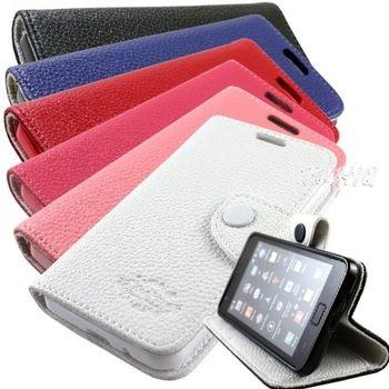 KooPin Samsung Galaxy S2 (i9100) 雙料縫線 側掀(立架式)皮套