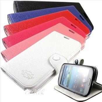 KooPin Samsung Galaxy Note 2 (N7100) 雙料縫線 側掀(立架式)皮套