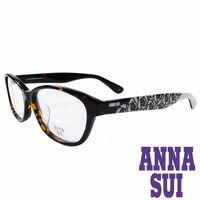 ANNA SUI 安娜蘇 浪漫薔薇花紋 眼鏡 ^#40 琥珀 ^#43 灰 ^#41 AS