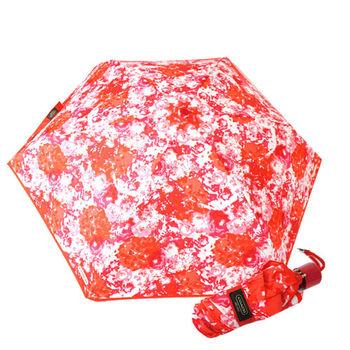 COACH 渲染圖騰輕量攜帶型晴雨傘(紅)-F62447