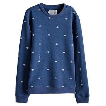 【摩達客】韓國進口設計品牌DBSW狙擊星星 - 圓領長袖T恤