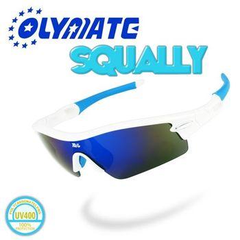 OLYMATE SQALLY 專業鍍膜防爆運動眼鏡