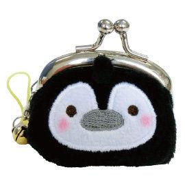 UNIQUE 動物樂園迷你珠扣零錢包  企鵝君