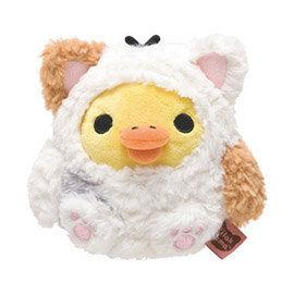 San-X 拉拉熊悠閒貓生活系列毛絨公仔 小雞