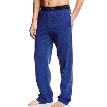【CK】2014男品味標誌褲頭鈷藍色長睡褲(預購)