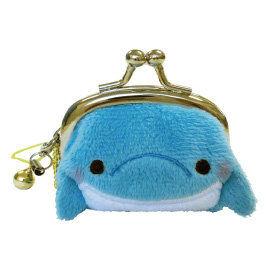 UNIQUE 動物樂園迷你珠扣零錢包  海豚君