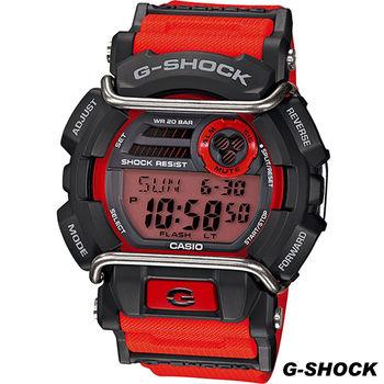 CASIO G-SHOCK 極限冒險運動腕錶 GD-400-4 紅