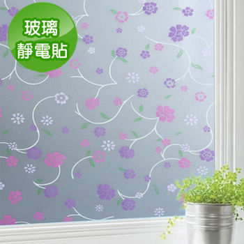 【Conalife】抵抗曝曬! PVC無膠靜電N次貼無殘留玻璃紙