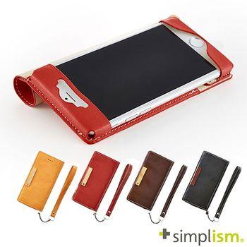 Simplism iPhone6 4.7 超輕量側掀皮革保護套