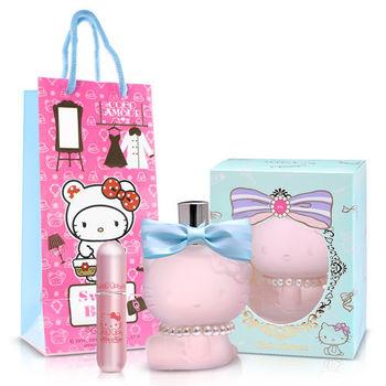 Hello kitty Coco Amour 粉紅菲菲女性淡香精(70ml)-送Kitty限定聯名款香水攜帶瓶+紙袋