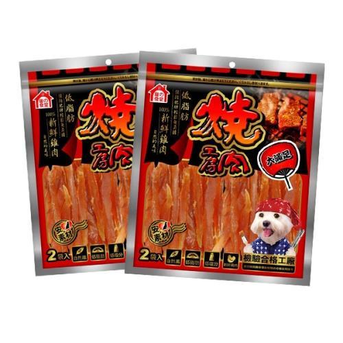 燒肉工房零食 蜜汁香醇雞腿捲8入 X 2包
