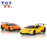 ~Toy F1~1:24 藍寶堅尼 LP670 ^#45 4 SV 遙控車