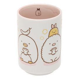 San-X 角落公仔緊緊窩角落系列日式陶瓷茶杯 粉