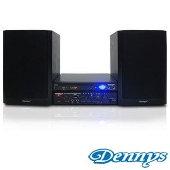 《Dennys》黑色搖滾USB/FM/HDMI/DVD音響組