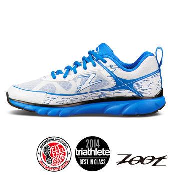 【ZOOT】頂級極致型索拉那 跑鞋 運動鞋(男)(白寶藍) Z14010170