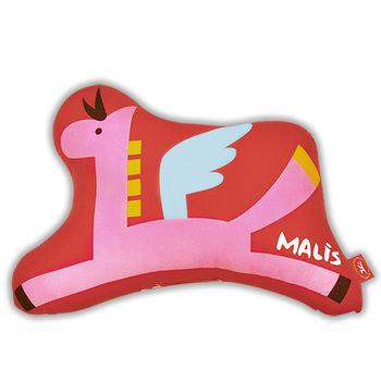 【義大利Fancy Belle X Malis】小飛馬 數位造型抱枕 42x31CM