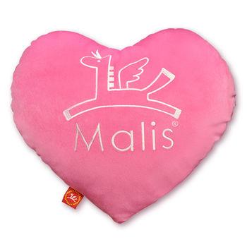 【義大利Fancy Belle X Malis】飛馬心型抱枕