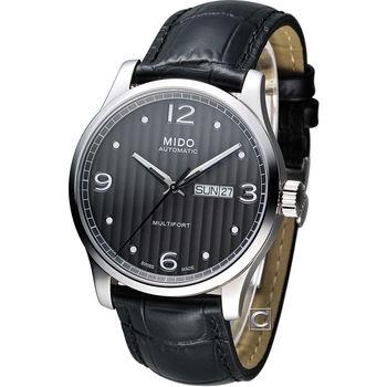 MIDO 美度 Multifort系列尊爵機械錶 M0054301606000