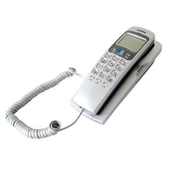 【聲寶SAMPO】來電顯示有線電話 可壁掛 HT-B906WL(銀色)