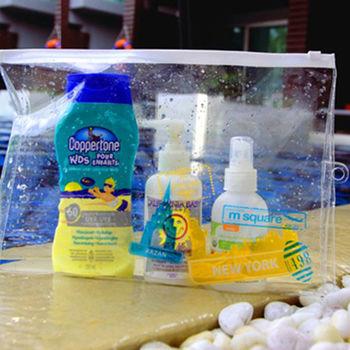 M Square 高品質透明防水袋 L