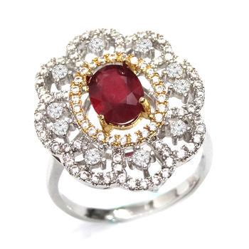 美帝亞  紅色宣言- 瑰麗紅寶石戒指(紅寶1.5ct ) (預購)
