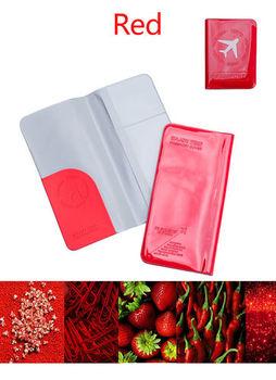 M square 新PVC糖果色機票護照夾(長版)(六色)