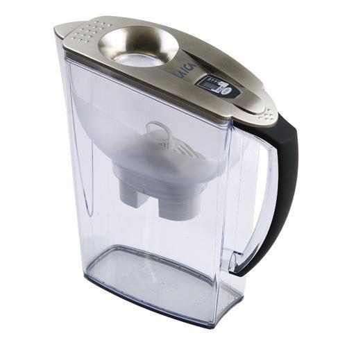 義大利 LAICA 濾水壺2.95公升羅馬系列-銀(JA18H)