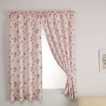 【巴芙洛】蘿絲半腰窗簾270cm×165cm