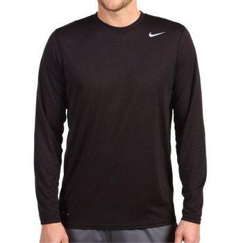 (預購)【Nike】2014男Dri Fit 黑色長袖圓領上衣