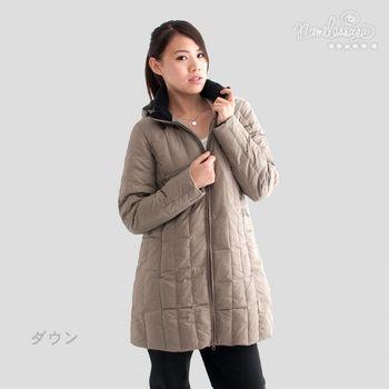 日本namelessage無名世代女款長版羽絨外套22W14