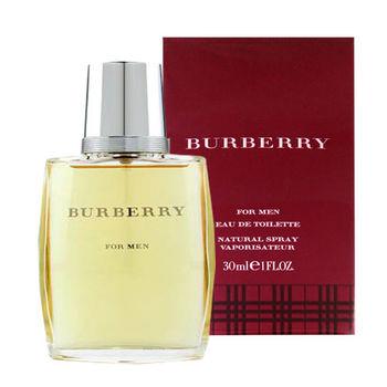 BURBERRY CLASSIC 經典男性淡香水 30ml
